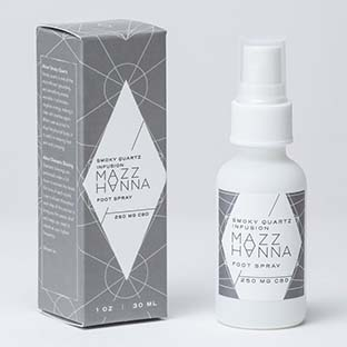 Mazz Hanna Smoky Quartz Infusion Foot Spray