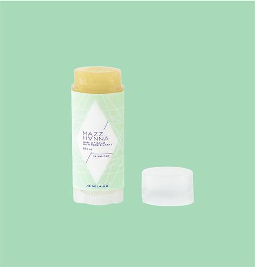 Mazz Hanna Rose Quartz Infusion Mint Lip Balm