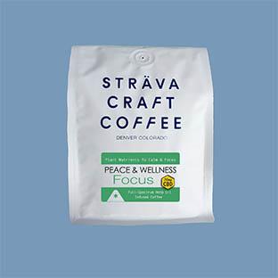 sträva craft coffee peace and wellness focus