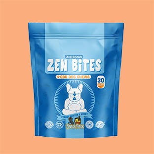 Zen dogs and cool cats peanut butter treats