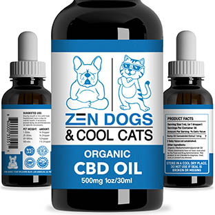 zen dogs and cool cats tincture